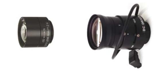 Ip kamera lens