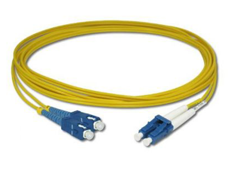 Amp Lc/Sc 9/125 10 Mt. Sm Duplex Patch Cord Fiber Optik Kablo