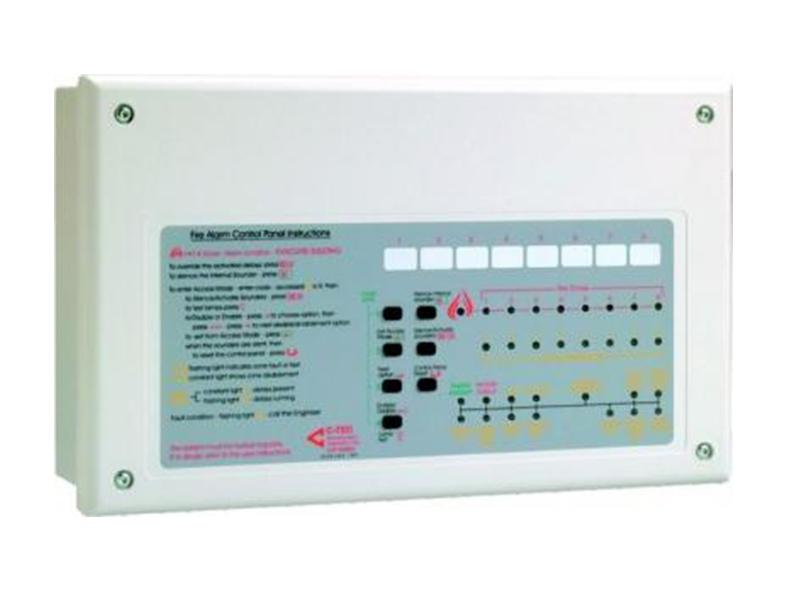 C-tec CFP708E 8 Zone Konvansiyonel Yangın Alarm Paneli