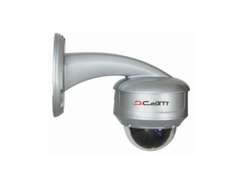 D-Cam D 010 10x Analog Mini Speed Dome Kamera