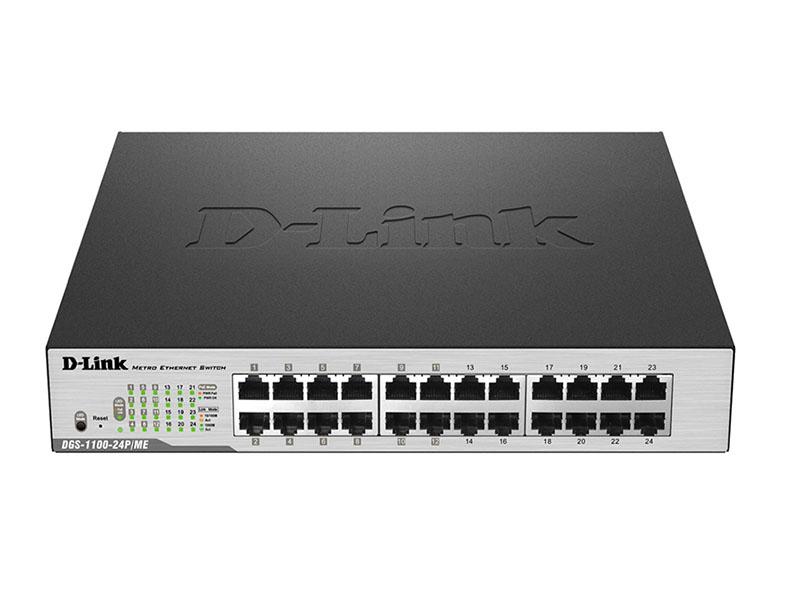 D-Link DGS1100 24P ME PoE Switch