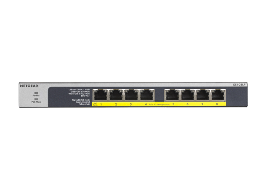 Netgear GS108LP PoE Switch