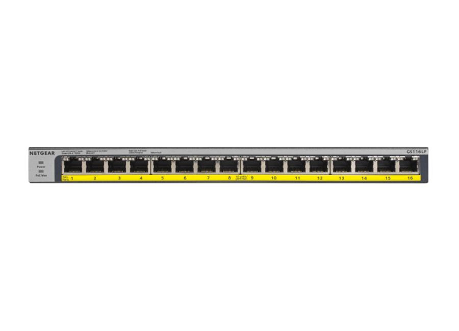 Netgear GS116LP PoE Switch