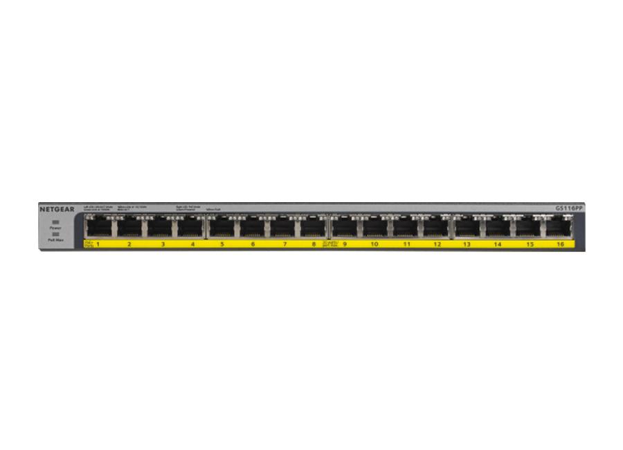Netgear GS116PP PoE Switch