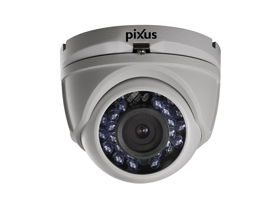 Pixus PLD OWT3T0DF HD TVI Mini Dome Kamera