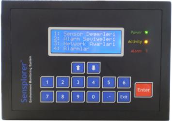 SENSPLORER v3 İklim Algılama, Kontrol ve Veri Toplama Sistemi
