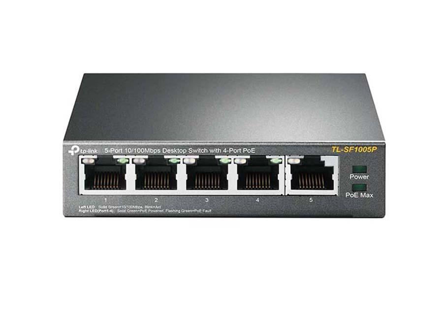 TP-Link TL SF1005P PoE Switch