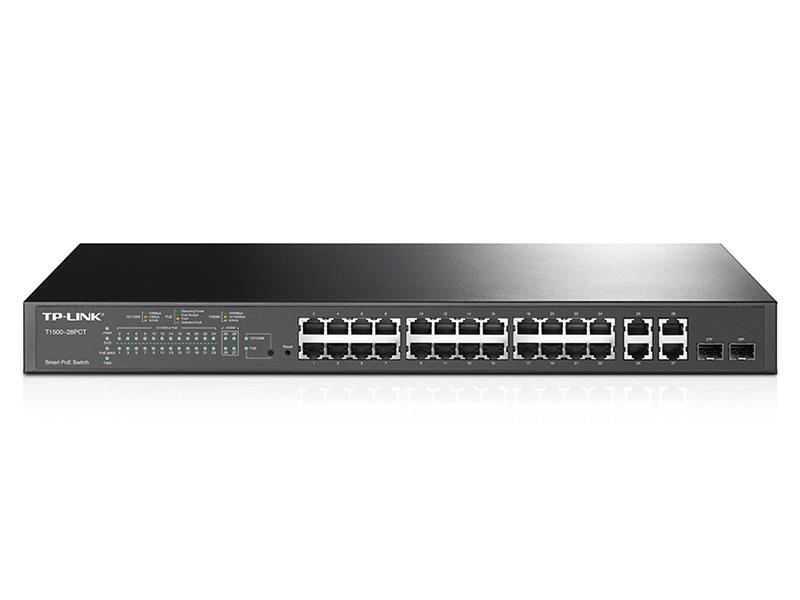 TP-LINK T1500 28PCT TL SL2428P 10/100 PoE Plus Switch