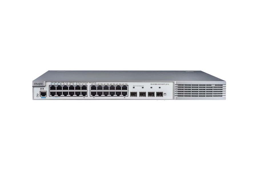 Ruijie XS S1960 24GT4SFP UP H PoE Switch