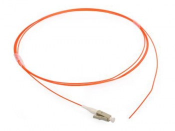 Hcs Lc 50125 1 Mt. Mm Tight Buffer Fiber Optik Pigtail