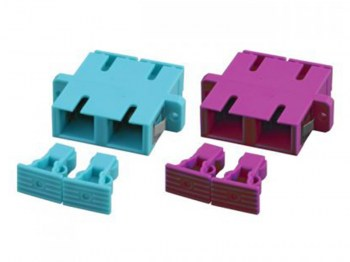Hcs ScPc Mm Om4 Duplex Fiber Optik Coupler
