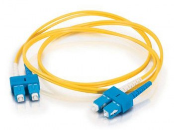 Hcs ScSc 9125 10 Mt. Sm Duplex Patch Cord Fiber Optik Kablo