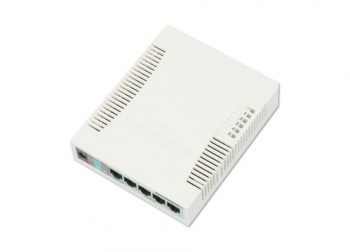 MikroTik RB260GSPCSS106 1G 4P 1S